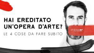 EREDITA' OPERA D'ARTE Andrea Concas ArteConcas