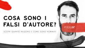 COSA SONO I FALSI D'AUTORE Andrea Concas ArteConcas