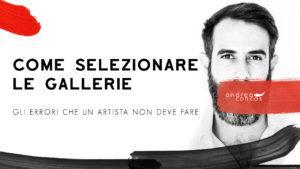 COME SELEZIONARE LE GALLERIE ArteConcas